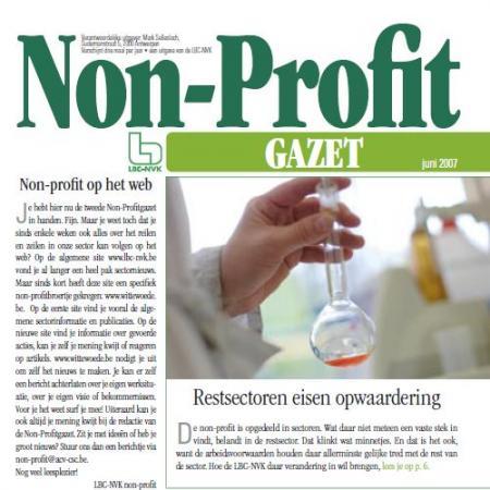 non-profit gazet juni 2007