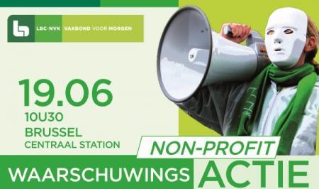 Non-profit organiseert waarschuwingsactie