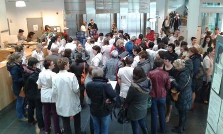 LBC-NVK protesteert tegen besparingsijver AZ Groeninge