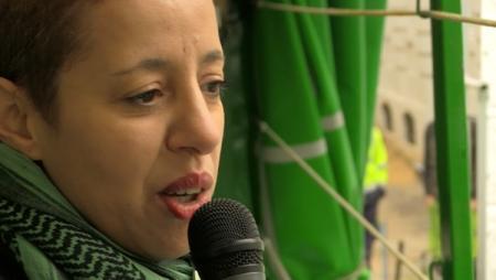 Fatiha Dahmani (LBC-NVK) evalueert campagne werknemersstatuut onthaalouders