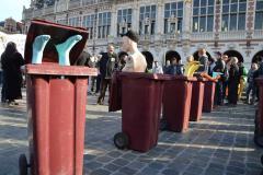 Protest tegen afbouw werkervaringsprojecten Wep+