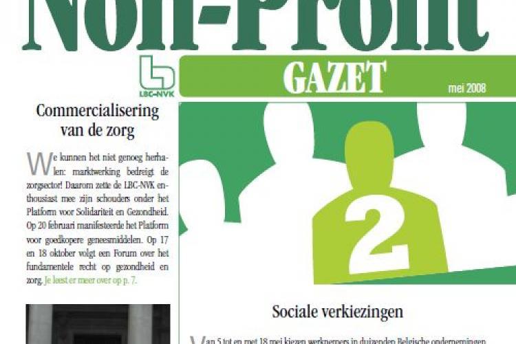 non-profit gazet mei 2008