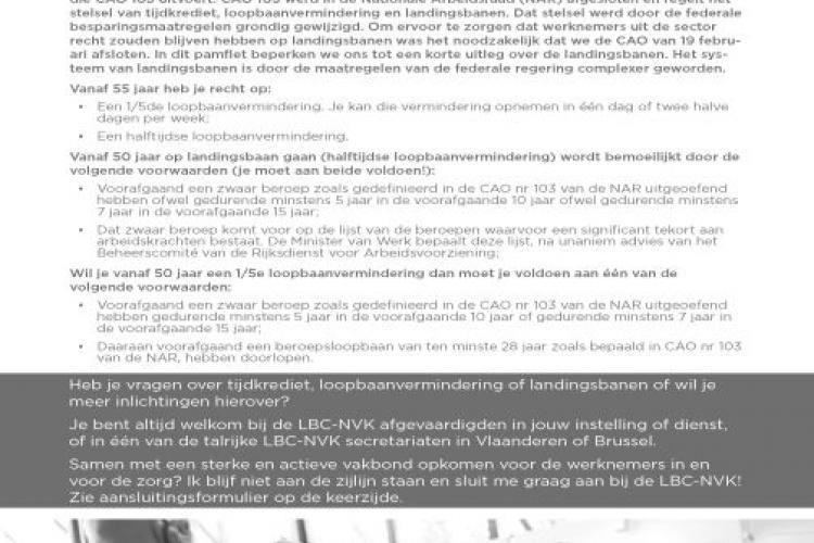LBC-NVK sluit CAO landingsbanen in sector gehandicaptenzorg, jongerenwelzijn en welzijnswerk