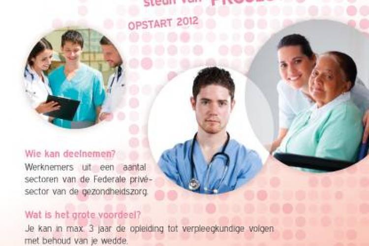 Opleidingsproject verpleegkundigen opnieuw van start in schooljaar 2012-2013