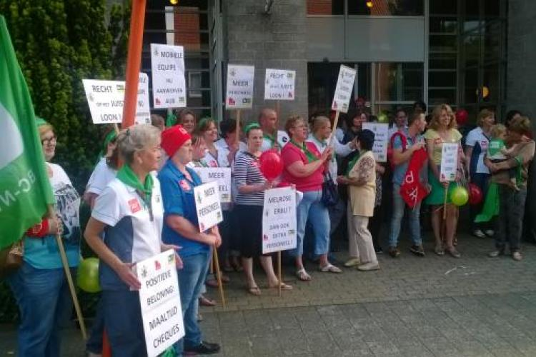 Werknemers rusthuis De Hazelaar willen meer personeel