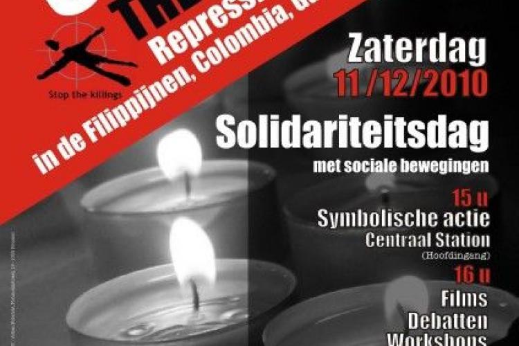 Solidariteitsdag met Filippijnse syndicalisten op 11 december