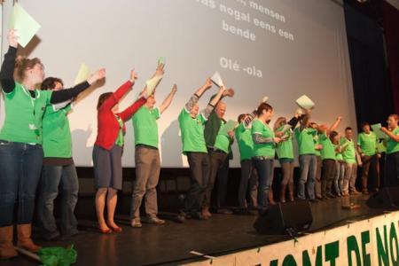 LBC-NVK organiseert startdag voor nieuw verkozen militanten
