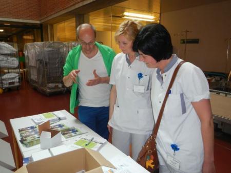 LBC-NVK informeert werknemers ziekenhuizen Turnhout over eenheidsstatuut