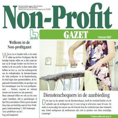 non-profit gazet februari 2007