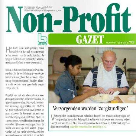 non-profit gazet mei 2009