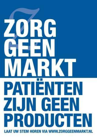 Verzet tegen drastische besparingsplannen Nederlandse zorg