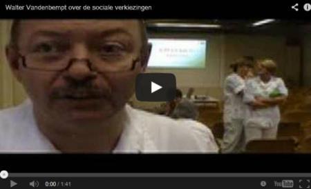Walter Vandenbempt over de sociale verkiezingen